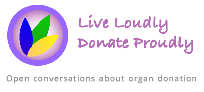 Live Loudly Donate Proudly